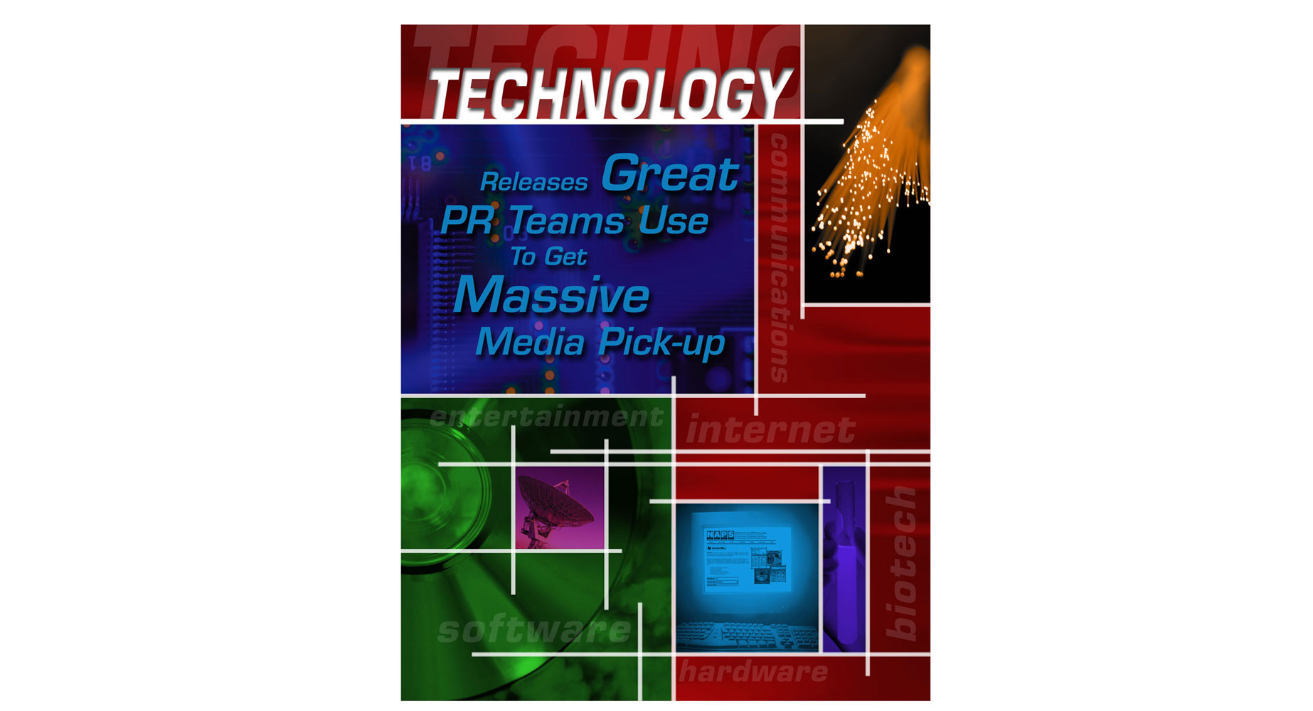 Professional Services technology brochure design