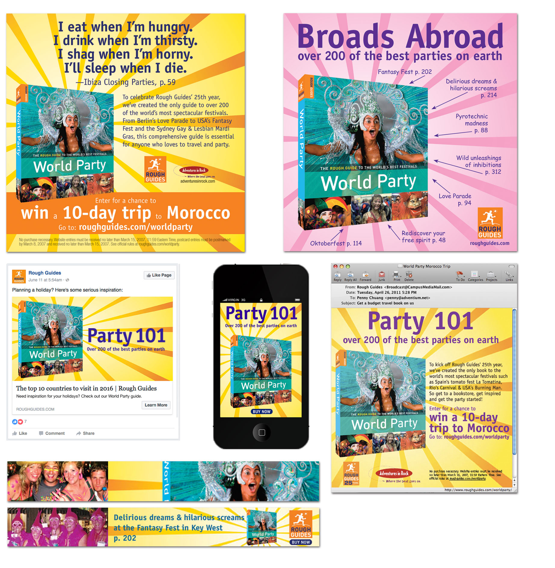 Travel Integrated Advertising Campaign